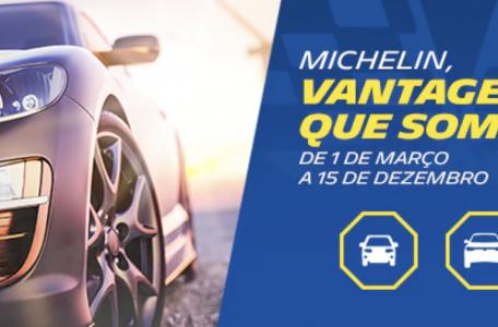 Promoção Michelin - Vantagens que somam